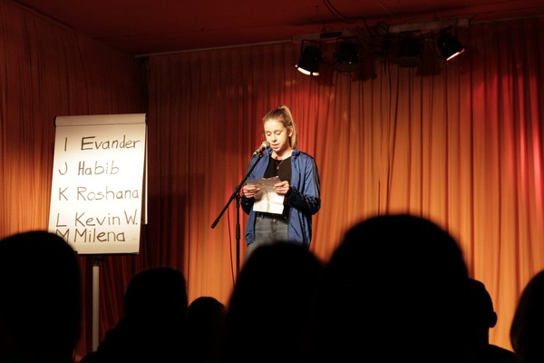 Sprechreiz Poetry Slam Schule